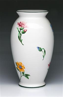 Sale 9093P - Lot 64 - Tiffany & Co Vase with Flowers (H: 26 cm)