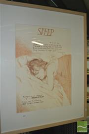 Sale 8425T - Lot 2097 - Brian Dunlop (1938 - 2009) - Sleep, 1988 72 x 51.5cm