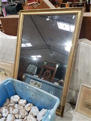 Sale 8745 - Lot 1030 - Gilt Framed Mirror