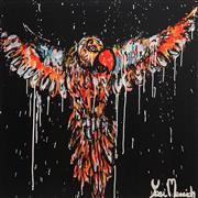 Sale 8880A - Lot 5026 - Yosi Messiah (1964 - ) - Night Flight 85 x 85 cm