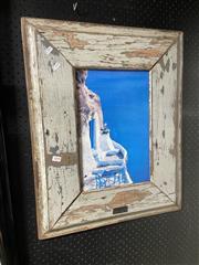 Sale 8914 - Lot 2098 - Rustic Framed Print of Greece