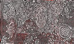 Sale 9221JM - Lot 5051 - MARLENE YOUNG NUNGURRAYI (1973 - ) Minyma Tjukurrpa acrylic on canvas 122 x 204 cm (stretched and ready to hang) signed verso; certi...