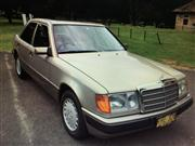 Sale 8359A - Lot 5 - 1990 Mercedes Benz 230E sedan, 	Built 11/1989 and Australian complied 3/1990  	Smoke silver with cream interior  	Factory sunroo...