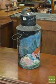 Sale 8390 - Lot 1661 - Painted Water Canister