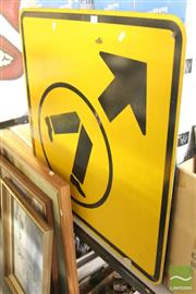 Sale 8483 - Lot 2039 - Crossing Sign