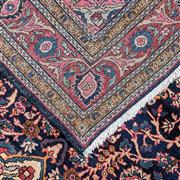 Sale 9061C - Lot 47 - Persian Vintage Fine Kashan Rug, 210x136cm, Handspun Wool