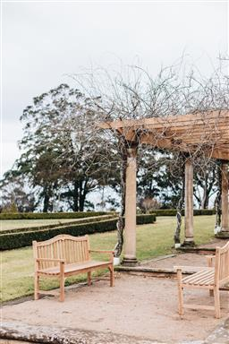Sale 9200P - Lot 50 - A pair of teak benches, Height 100cm x Length 164cm x Depth 63cm
