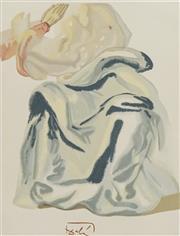 Sale 8658A - Lot 5062 - Salvador Dali (1904 - 1989) - To The Empyrean, 1960 33 x 26.2cm