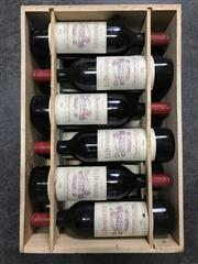 Sale 9025 - Lot 616 - 12x 1982 Chateau La Dominique, Grand Cru Classe, Saint-Emilion - original timber case