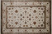 Sale 8290A - Lot 60 - Jaipor Silk & Wool 275cm x 185cm RRP $2600