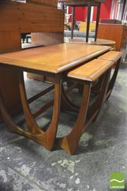 Sale 8310 - Lot 1065 - G-Plan Teak Nest of Tables
