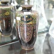 Sale 8336 - Lot 68 - Meiji Fine Cloisonne Phoenix Vase