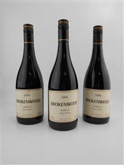 Sale 8519W - Lot 42 - 3x 2006 Brokenwood Shiraz, Hunter Valley