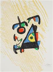 Sale 8847 - Lot 595 - Joan Miro (1893 - 1983) - Graveur (Suite) 60.5 x 44cm