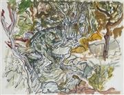 Sale 8847 - Lot 577 - Roy Jackson (1944 - 2013) - River, Rock, Trees 37 x 47.5cm