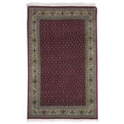 Sale 8914C - Lot 56 - Persian Fine 50 Raj Tabriz Rug, 130x80cm, Silk & Wool Inlaid