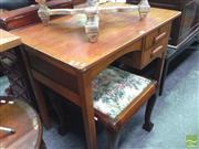 Sale 8412 - Lot 1054 - Small Oak Desk