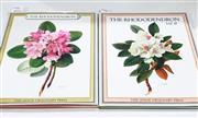Sale 8822B - Lot 812 - Volumes 1 & 2 The Rhododendron, ed. Beryl L. Urquhart, ill. Carlos Riefel, pub. Leslie Urquhart Press, 1958 & 1962