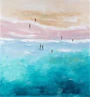Sale 9067 - Lot 509 - Cheryl Cusick - A Chance Meeting 102 x 101 cm
