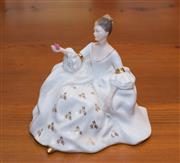 Sale 8368A - Lot 36 - A Royal Doulton figure My Love, HN 2339, H 17 cm