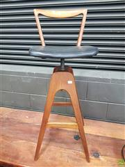Sale 8625 - Lot 1029 - T.H Brown Barstool -