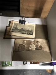Sale 8802 - Lot 389 - Vintage Album of Photographs & Postcards, some of the British Monarchy