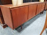 Sale 8930 - Lot 1001 - Vintage Teak Four Drawer Sideboard