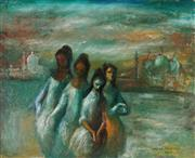 Sale 8947 - Lot 577 - William Drew (1928 - 1983) - Goddesses of Venice, 1963 44 x 54 cm (frame: 72 x 82 x 6 cm )