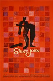 Sale 8330A - Lot 50 - 'Saint Joan' & 'Rocco i Jego Bracia' - 101 x 66cm; 84.5 x 57.5cm