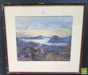 Sale 8413T - Lot 2026 - Gladys Owen (1889 - 1960) - Untitled, 1921 (Beachscape) 25.5 x 35cm