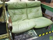 Sale 8424 - Lot 1022 - Tessa Lounge Chair In Green Upholstery