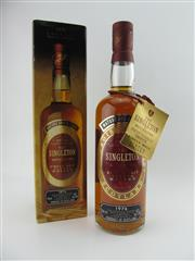Sale 8498 - Lot 1718 - 1x 1976 The Singleton of Auchroisk Single Malt Scotch Whisky - in box