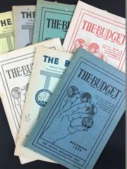 Sale 8539M - Lot 61 - The Budget: Official Organ of the British Ring International Brotherhood of Magicians, 7 vols, mostly 1940s, For Private Circulat...