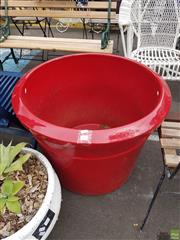 Sale 8601 - Lot 1203 - Giant Red Pot (USA)
