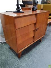 Sale 8625 - Lot 1086 - T.H Brown Sideboard (H: 80 W: 109 D: 45cm) -