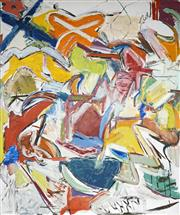 Sale 8708A - Lot 551 - David Marsden (1949 - ) - Untitled (Abstract) 182.5 x 152cm