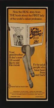 Sale 8822A - Lot 5141 - THE HAPPY HOOKER - 72 x 32cm