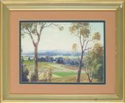 Sale 8853 - Lot 2051 - Theo Grimanes (1887 - 1954) - Bega Valley Vista 26 x 37cm
