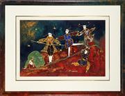 Sale 8838A - Lot 5184 - Artist Unknown - Les Funambules 59 x 89.5cm