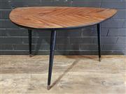 Sale 8959 - Lot 1054 - Leaf Form Coffee Table (H:52 x L:37 x D:99cm)