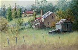 Sale 9137A - Lot 5006 - John Vander (1947 - ) - Near Lithgow 40 x 60 cm (frame: 60 x 80 x 4 cm)