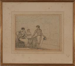 Sale 9161A - Lot 5069 - HENRY BUNBURY (1812 - 1875) - Untitled 27 x 35 cm (frame: 52 x 60 x 2 cm)