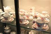 Sale 8288 - Lot 52 - Royal Crown Derby Derby Posies Tea Wares