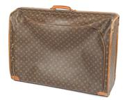Sale 8640F - Lot 8 - A Louis Vuitton, Paris special edition classic LV monogrammed suit case with front closed end zip, soft shell, made in the USA, #SD0..