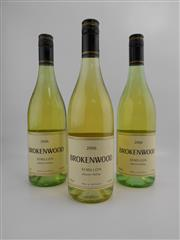 Sale 8519W - Lot 45 - 3x 2006 Brokenwood Semillon, Hunter Valley