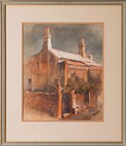 Sale 8575H - Lot 39 - McMillan - Time Weathered, Glebe Frame size H: 58cm x W: 50cm