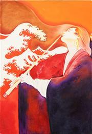 Sale 8807 - Lot 2015 - Allan Goddard (1950 - 2018) - Japonisme 91 x 61cm