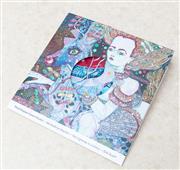 Sale 8866H - Lot 17 - A Del Kathryn Barton silk scarf, entitled The Highway is a Disco , 100cm x 120cm