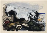 Sale 9013 - Lot 507 - Fred Cress (1938 - 2009) - Tell Tales #23, 1988 61 x 91 cm (frame: 106 x 136 x 4 cm)