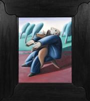 Sale 8363 - Lot 586 - Tom Samek (1950 - ) - Meditation, 1997 51 x 40.5cm